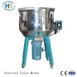 Mezclador de color vertical para extrusión de plástico