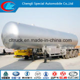Трейлер топливозаправщика ASME 60 Cbm Cbm LPG для перевозки газа LPG