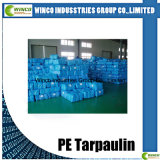Bâches de protection de PE, tissu imperméable à l'eau, PE UV Tarps de résistance