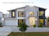 住宅の二重ガラス(FT-W126)との金属によって組み立てられるWindows