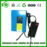 24V 22ah Li-Ionbatterie-Satz mit PCM + Ladegerät für elektrisch angeschaltenen Rollstuhl von der chinesischen Soem-Manufaktur, Gebrauch Samsung brennen Zelle der Batterie-18650 ein