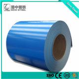 Bobina PPGI CGCC RAL5020 Prepainted bobina de aço galvanizado para materiais de revestimentos betumados
