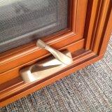 نافذة خشبيّة مع خارجيّة ألومنيوم [كلدّينغ] شباك نافذة
