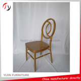 Салон металла золотистый арендный Banqueting стул доставки с обслуживанием оптового конструктора естественный (AT-310)