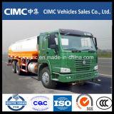 HOWO 25000L de aceite camiones tanque de 5000 litros de combustible de camiones cisterna