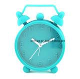 Twin Quarto Sino Tabela Silicone Relógio Despertador Secretária decorativos para estudantes