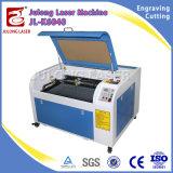 Gravador de madeira do laser do estojo compato da máquina de gravura do laser do CO2 do acrílico 6040 de Julong