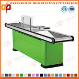 Metallischer Supermarkt-System-Speicher-Kassierer Checkstand Tisch-Prüfungs-Kostenzähler (Zhc30)
