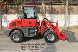 1.6 carregador do carregador Zl916 da roda dianteira da tonelada para o fazendeiro