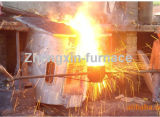 Aluminum Shell Induction Melting Furnace for Copper/Iron (200KG)