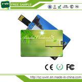 Custom печать рекламных подарков кредитной карты флэш-накопитель USB