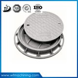 B125/C250/D400砂型で作ることによる延性がある鉄のマンホールカバー