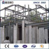 Structure en acier préfabriqués bâtiment avec châssis en acier préfabriqués