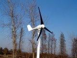 200W 12/24V horizontale Mittellinien-Wind-Turbine-/Wind-Tausendstel-/des Wind-Generator-3 Schaufeln, niedrige Anfangswindgeschwindigkeit mit Cer RO-HS