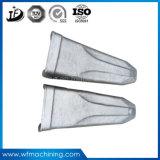 Зубы ведра землечерпалки отливки OEM для зуба ведра PC250