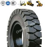 Pneumatico pneumatico industriale del solido del manzo di pattini delle gomme 5.00-8, 6.00-9 del carrello elevatore, 10-16.5, 12-16.5