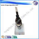 Пламя - изоляция и оболочка/кабель системы управления ленты Screened/PVC retardant /Cu