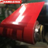 Color RAL Pre-Painted personalizada Galvansied bobinas de acero para material de construcción