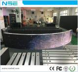 Visualización de LED fija al aire libre caliente de la instalación de la venta P8mm