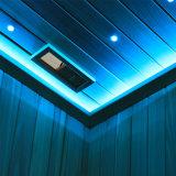 L'intérieur boisée de cèdre canadiens Sauna Salle avec poêle de sauna Stone-Made M-6033