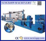 Máquina de alta temperatura da extrusão de cabo do Teflon de Fluoroplastic da elevada precisão