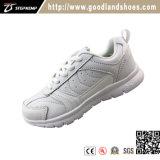 Nieuwe Schoenen 20298 van de Tennisschoen van de Sporten van Runing van Jonge geitjes Styler Toevallige Witte