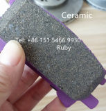 Wholesale Clouded Ceramic Disc Brake Pad D996 04466-48040 for Lexus Rx350 Because Shares