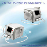 E11c Multi Functional IPL Elight lp YAG Hair rem oval and Tattoo rem oval Machine