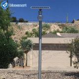 iluminação psta solar do jardim da rua do diodo emissor de luz 6W
