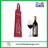 Populärer Flaschen-Wein-Geschenk-Beutel mit Handtasche