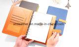 Tourillon promotionnel de cahier d'obligatoire en cuir du cadeau 2015