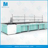 Neuer Typ aller Rahmen-zentrale Laborprüftisch des Stahl-H