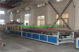 Cadena de producción compuesta plástica de madera de la puerta de PVC-WPC
