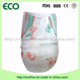 Weiche und Breathable u. High Absorbency Disposable Baby Diaper in Hook u. in Loop Tapes