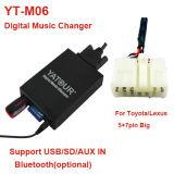 Yatour Lexus (ES/IS/GS/GX/LS/LX/RX/SC)デジタル音楽チェンジャーYt-M06のため