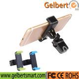 Rotación de 360 Aireador de coche Accesorios de teléfono de soporte de abrazadera de plástico