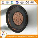 De middelgrote Kabel van de Macht van het Koper XLPE Insualted van de Kern 150mm2 van het Voltage 33kv 3