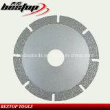 Vuoto Brazed Diamond Blade per Granite/Marble/Travertine/Limestone Cutting