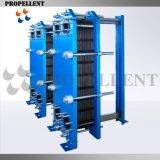 La mejor calidad de la placa de soldado Cooper intercambiador de calor para Refrigeración y Climatización