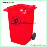 De plastic Verschillende Bak van het Huisvuil van de Kleur Milieuvriendelijke Duurzame