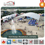 15m de largeur Big Arcum tente Aluminium et PVC pour l'événement au Nigéria
