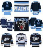 Capretti delle donne del Mens della Jersey degli orsi neri del Ncaa Maine di abitudine 100% ricamato reso personale qualsiasi il migliore pullover poco costoso del hokey di ghiaccio di qualità di nome no.