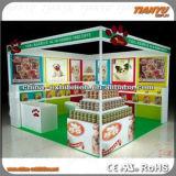 Exposition de publicité en acrylique stands de stands d'exposition