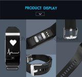 Bracelet Bracelet à puce avec la fréquence cardiaque et Moniteur de pression sanguine K18s