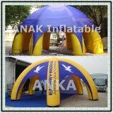 8 jambes Spider dôme gonflable grande tente pour la publicité