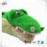 주문 녹색 채워진 악어/악어 해양동물 장난감
