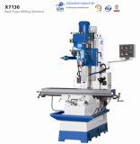 CNC X7130 금속 절단 도구를 위한 보편적인 수직 포탑 보링 맷돌로 간 & 드릴링 기계