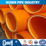 Aplicação de irrigação de alta pressão da indústria química de plástico do tubo de PE