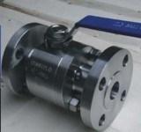 F316-F304-F51 forjó la vávula de bola del API del muñón