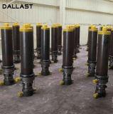 De acción simple cilindro hidráulico para volquetes y camiones de basura y el saneamiento de vehículos
